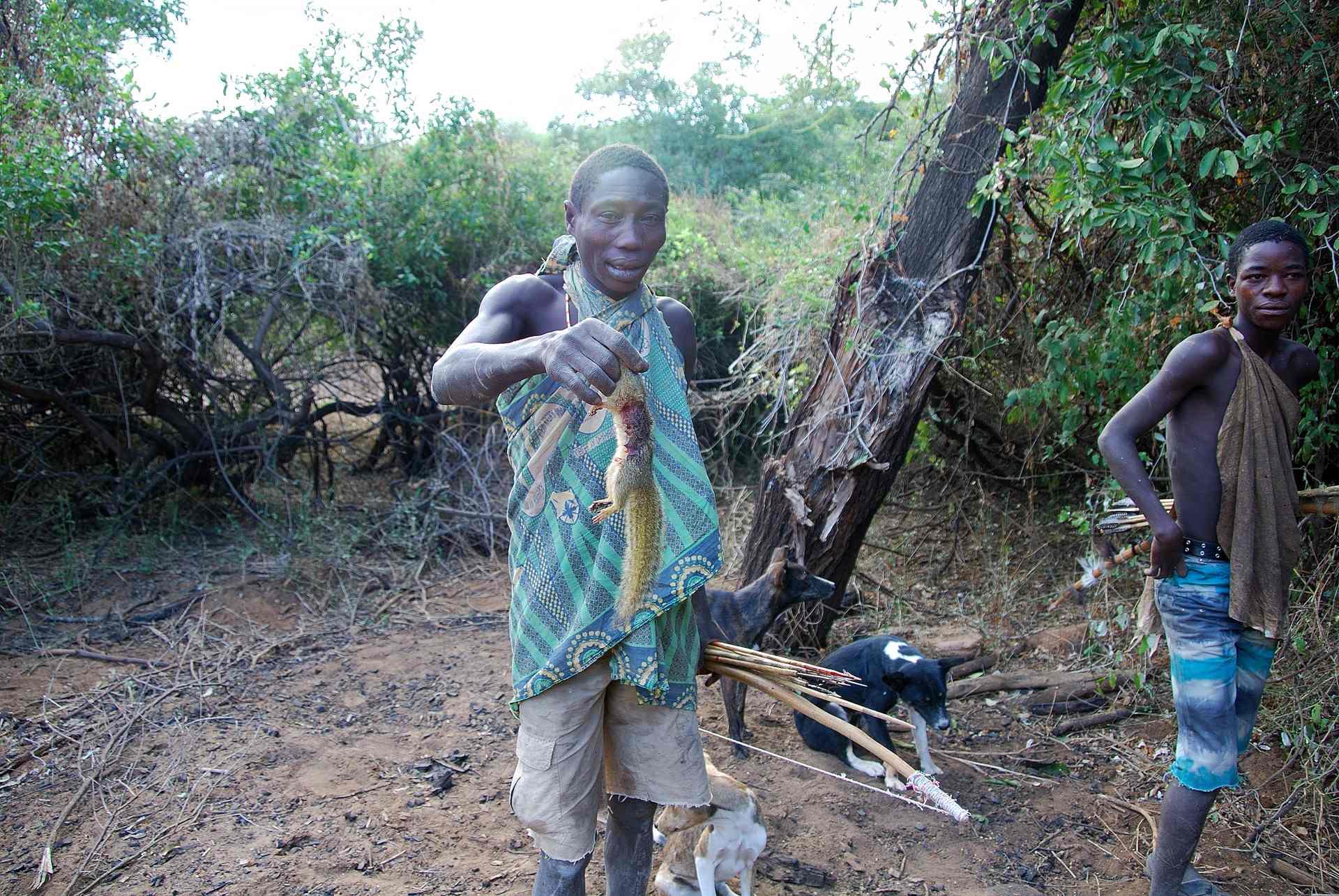 Masais cazadores